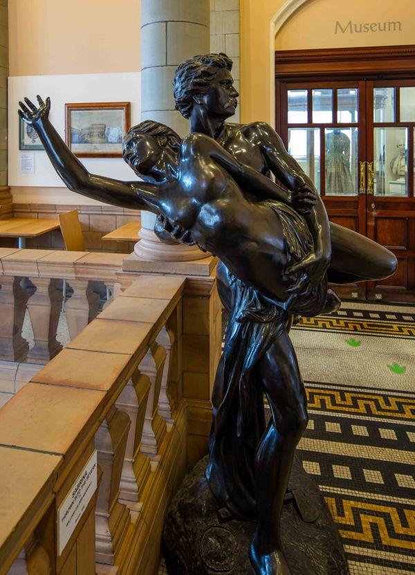 sabrina statue
