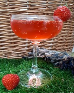 An example of a cocktail we serve at the event.