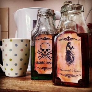 potions at the commandery