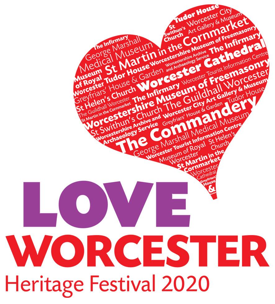 Love Worcester Heritage Festival Logo