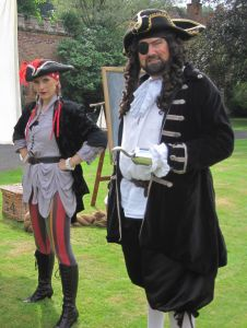 Pirates at Hartlebury Castle